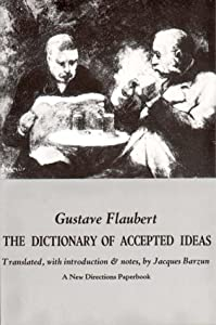 """Cover of """"Dictionary of Accepted Ideas"""""""