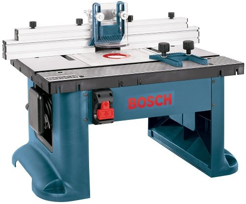 Router Table Plate Bosch