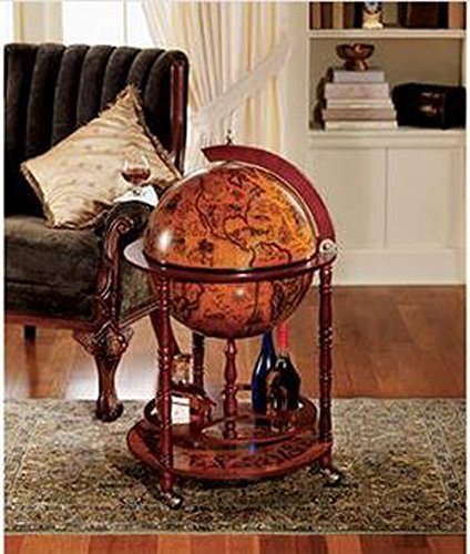 metal top kitchen table small and chairs sixteenth-century italian replica old world globe bar