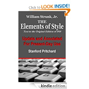 Cover of The Elements of Style, Updated for Present-Day Use