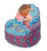 Disney Doc McStuffins Toddler Bean Bag Sofa Chair ...