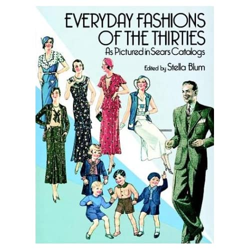 Everyday Fashions of the 1930s