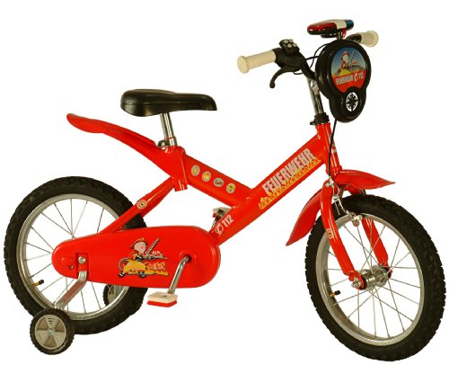 YAKARI 16 Zoll Kinderfahrrad Feuerwehr 16″ Fahrrad