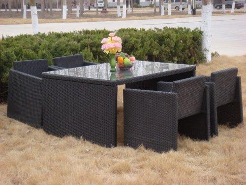 Poly-Rattan Gartenmöbel von PRIME TECH® 'Modell QUATTRO'