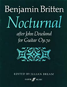 "Cover of ""Nocturnal After John Dowland: O..."
