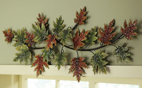 Unique Metal Wall Decor for Autumn