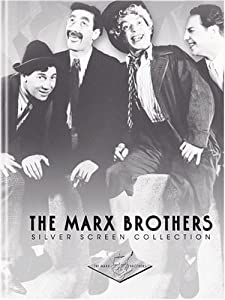 "Cover of ""The Marx Brothers Silver Screen..."