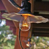 Amazon.com : Caf String Lights, S14 Edison Bulbs, 35 ft ...