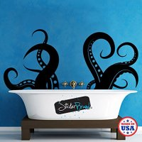 Giant Octopus Tentacles Wall Decal Sticker by Stickerbrand