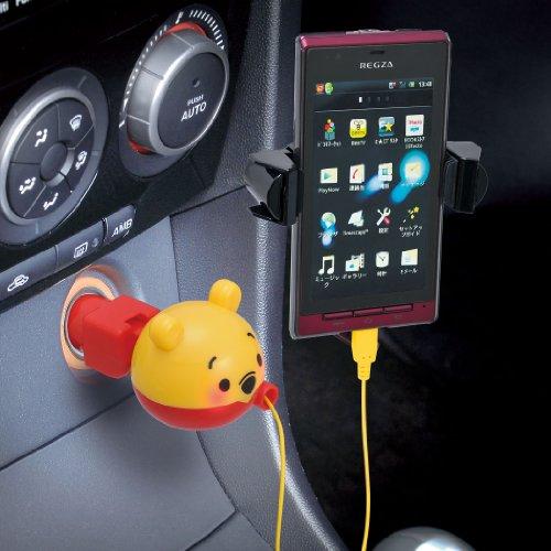 セイワ(SEIWA) Disney スマートフォン/iPhone・iPod用 デジタルチャージャー プーさん DY19