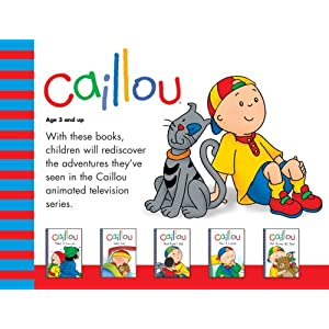 Caillou: Boxed Set (Backpack Series)