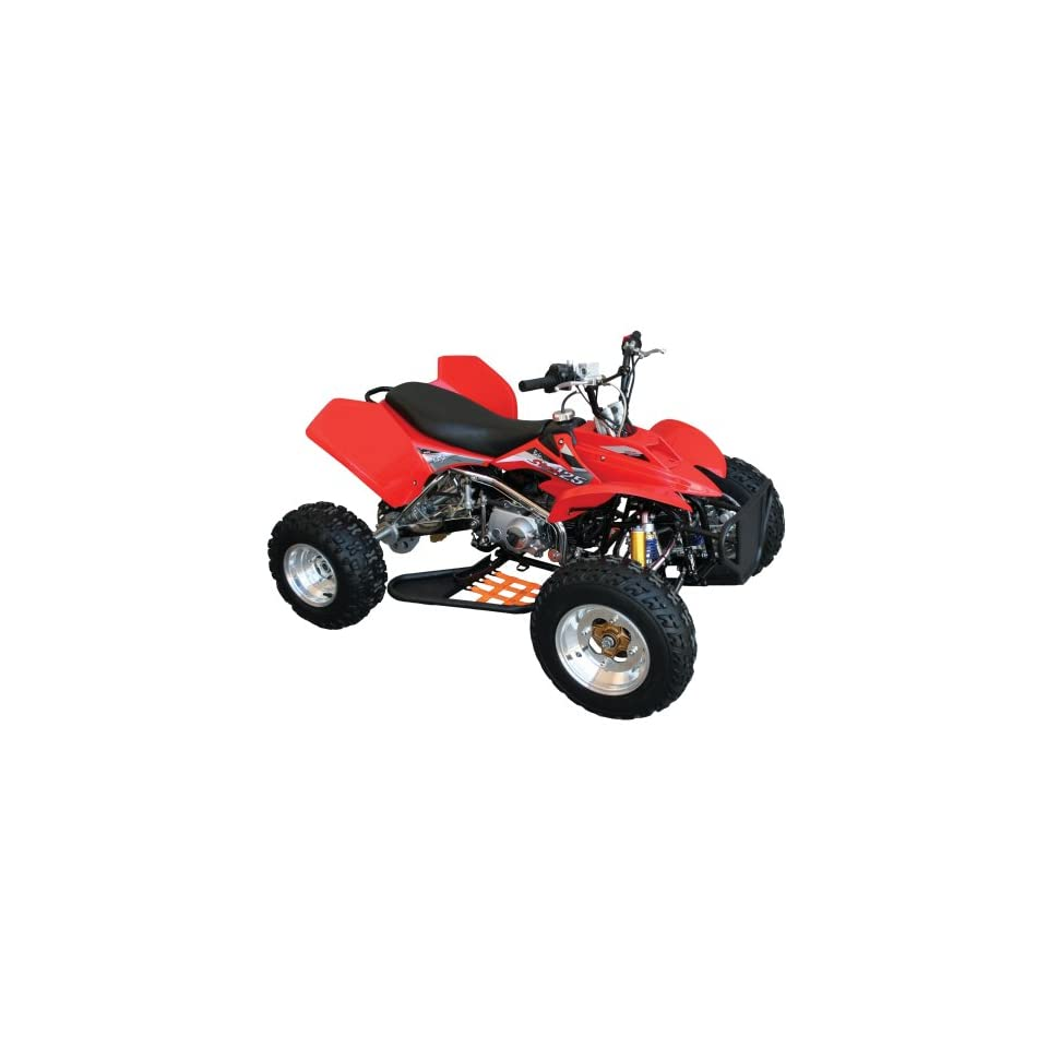 medium resolution of baja motorsports str125 storm 125 atv red explore
