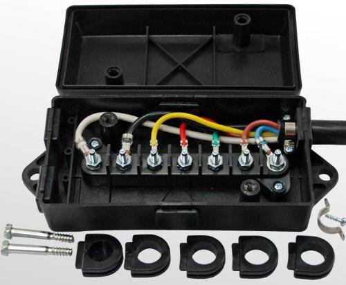 Rv Travel Trailer Junction Box Wiring Diagram Trailer Wiring Diagram