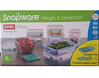 Snapware Airtight Leakproof Pyrex Glass Food Keeper Set
