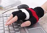ECSEM USBあったか手袋 USB接続 発熱 防寒手袋 暖房グッズ パソコン作業/勉強/読書に最適