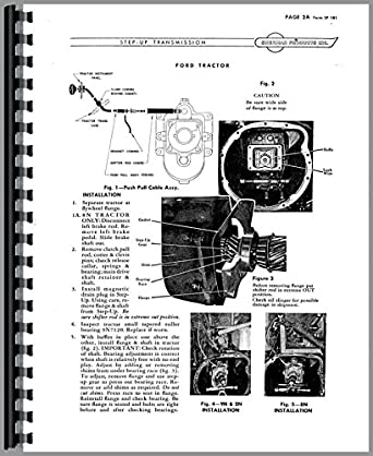 Ford 9N Sherman Transmission Service Manual: Amazon.com