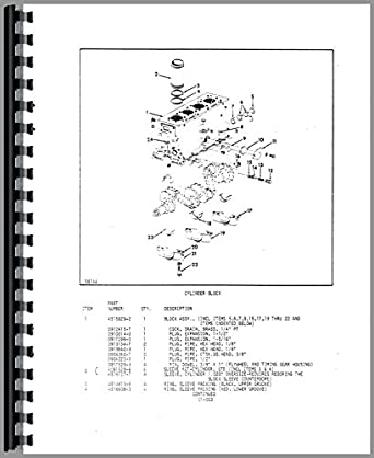 Allis Chalmers FPL50-24 Forklift Parts Manual: Amazon.com