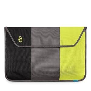 "Timbuk2 Nylon Kindle Sleeve (Fits 6"" Display, 2nd Generation Kindle) Black/GunMetal/Lime-Aide"