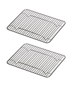 Amazon.com: (2 Pack) Cross Wire Grid Baking / Cooling