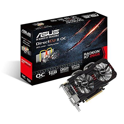ASUSTeK AMD Radeon R7 260X R7260X-DC2OC-1GD5