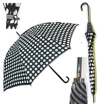 Amazon.com: Polka Dot Umbrella: Clothing