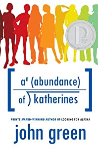 """Cover of """"An Abundance of Katherines"""""""