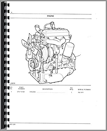 Oliver 1255 Tractor Parts Manual: Amazon.com: Industrial