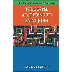 The Gospel According To Saint John (Black's New Testament Commentary)