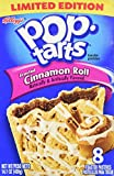 Kellogg's®, Pop-Tarts®, Cinnamon Roll, Frosted Toaster Pastries, 8 Count, 14.1oz Box (Pack of 6)