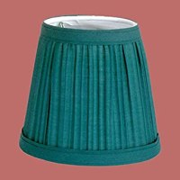 Lamp Shades Hunter Green Fabric Lamp Shade 4 1/16 H Clip ...