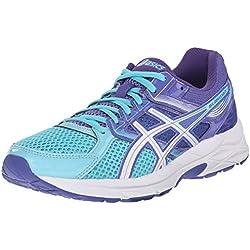 ASICS Women's Gel-Contend 3 Running Shoe, Turquoise/White/Acai, 8.5 M US