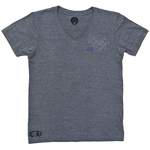 CHROME HEARTS HALF SLEEVE T-SHIRT V NECK クロムハーツ 半袖Tシャツ Vネック CHプラス チャコールグレー