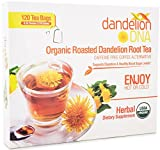 Roasted Dandelion Root Tea - USDA Organic - Supports Digestion, Kidney & Liver Health - 120 Bags
