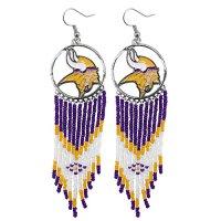 Vikings Earrings, Minnesota Vikings Earrings, Vikings ...