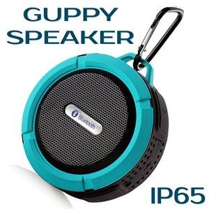 OUTDOOR-INDOOR-Waterproof-Bluetooth-Speaker-Shockproof-Wireless-Portable-Audio-Built-in-Control-Buttons-Speakerphone-Powerful-Suction-Cup-and-Snap-Hook-Shower-Speaker-Best-use-for-Sports-Trekking-Back