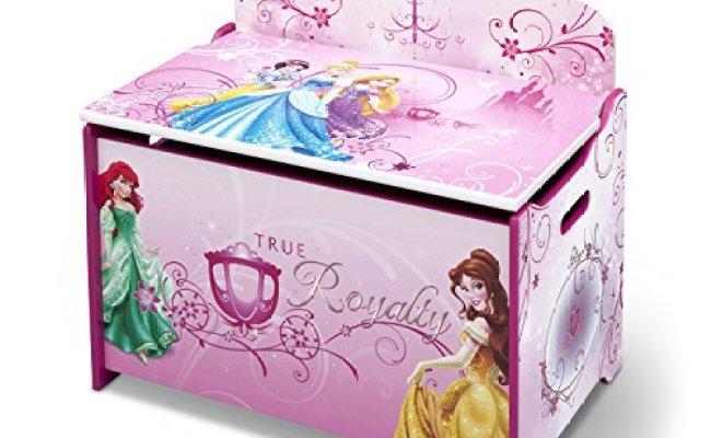 Delta Children Deluxe Toy Box Disney Princess Toys Games