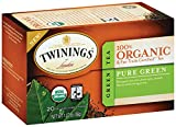 Twinings Pure Green Organic, 20 Count Tea Bags, 1.27 Ounce