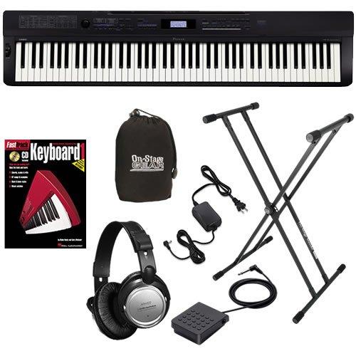 Casio PX-3S Digital Piano ESSENTIALS BUNDLE w/ Stand & Headphones