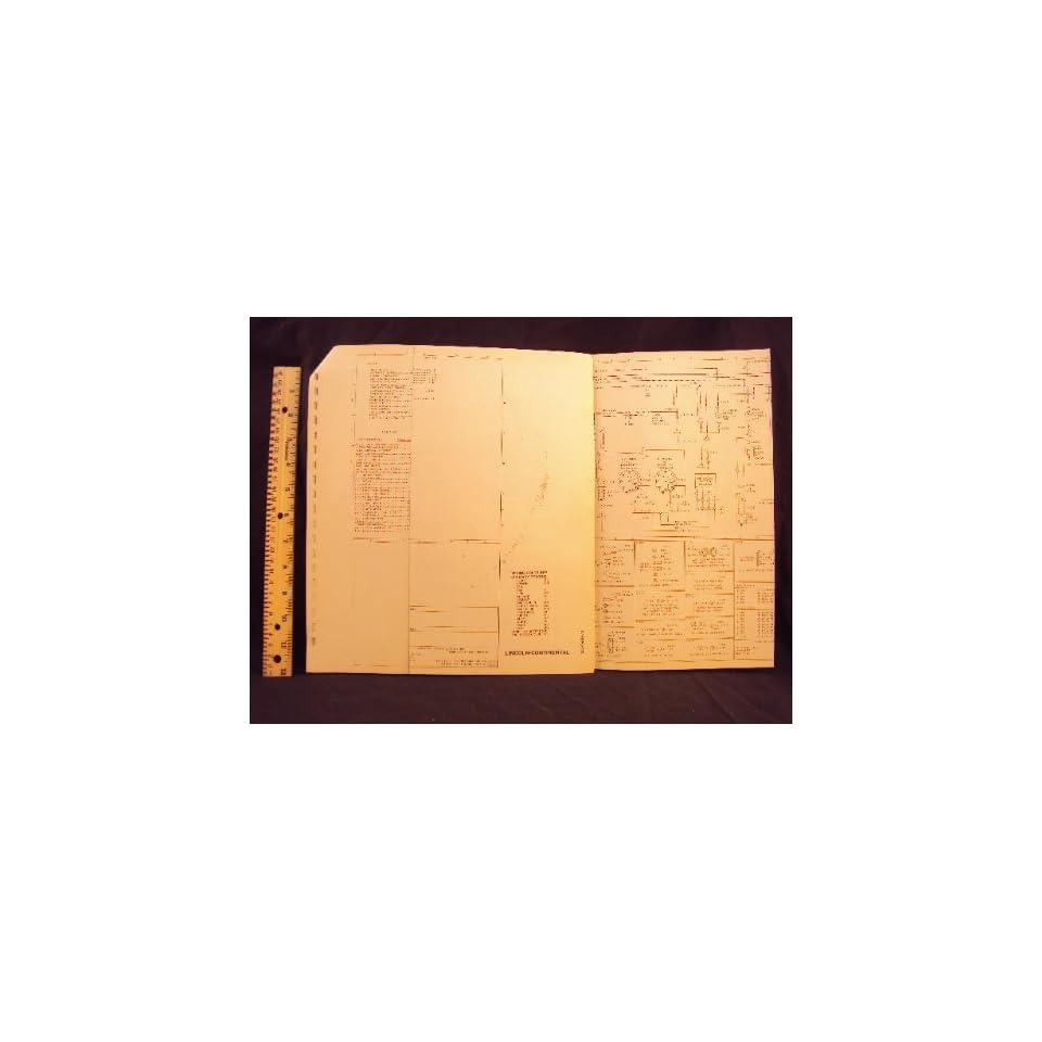 medium resolution of 1978 78 lincoln continental electrical wiring diagrams manual original