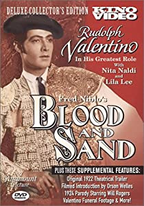 "Cover of ""Blood and Sand: Silent Classic&..."