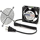 AC Infinity HS9225A-X Standard Cooling Fan, 115V AC 92mm