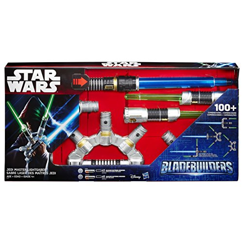 Bladebuilders Jedi Master Lightsaber toy for boys