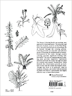 Amazon.com: The Botany Coloring Book (9780064603027): Paul