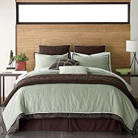Amazon.com - Greenfield Comforter Queen Set 4 Pcs