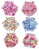 SET - 3pcs Lillypet® Dog Diaper Skirt For SMALL Dogs Female Girl Sanitary Pant Dress Color Random Size S
