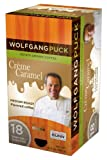 Wolfgang Puck WP79109 Caramel Cream Single Cup Coffee Pods, 18-count