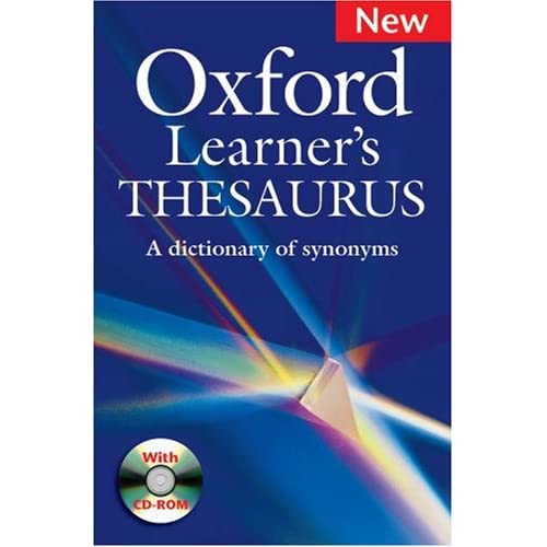 English Jack The Oxford Learners Thesaurus