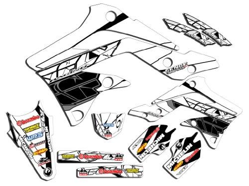 Senge Graphics 2002-2009 KLX 110 Fly White 2013 Graphics