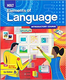 Holt Elements Of Language Introductory Course, Grade 6 Rinehart And Winston Holt