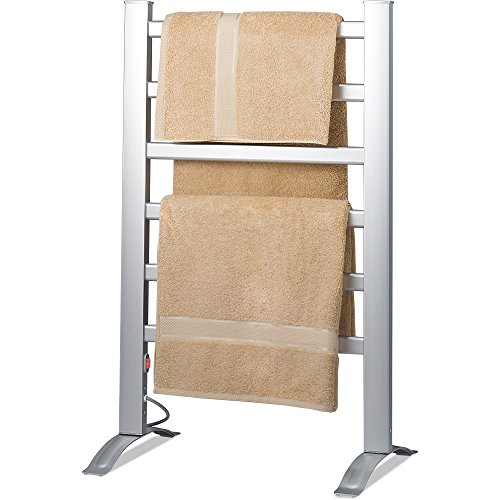 Knox Freestanding & Mountable Towel Warmer & Drying Rack - 6 Bars - Aluminum Frame